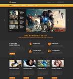 Entertainment Joomla  Template 48962