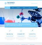 Science Joomla  Template 48964