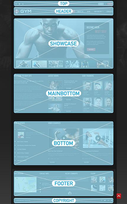 Joomla Theme/Template 48965 Main Page Screenshot