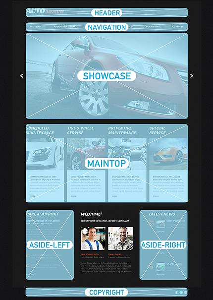 Joomla Theme/Template 48970 Main Page Screenshot