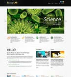 Science Joomla  Template 48974