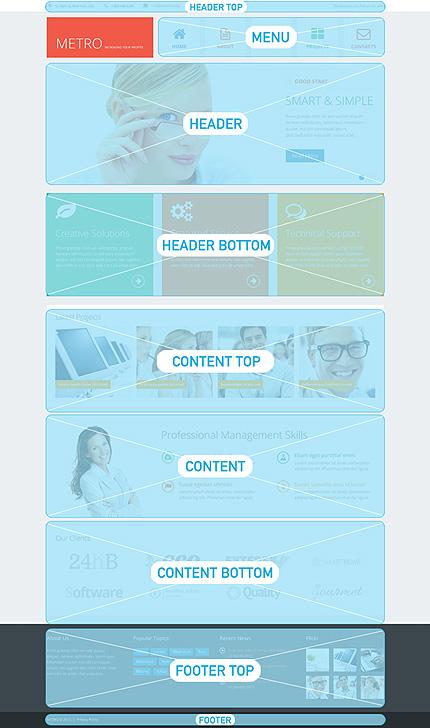 Drupal Template 48975 Main Page Screenshot