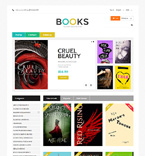 Books PrestaShop Template 48977