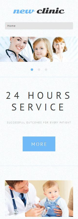 WordPress Theme/Template 48978 Main Page Screenshot