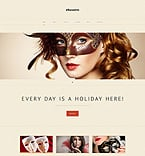 Entertainment WordPress Template 48981