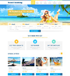 Travel Website  Template 48987