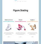 Sport Website  Template 48993
