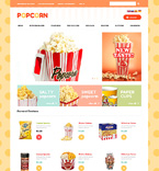 Food & Drink osCommerce  Template 48996