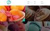 Адаптивный Joomla шаблон №48955 на тему магазин сладостей New Screenshots BIG