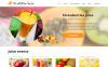 Адаптивный Joomla шаблон №48957 на тему напитки и еда New Screenshots BIG