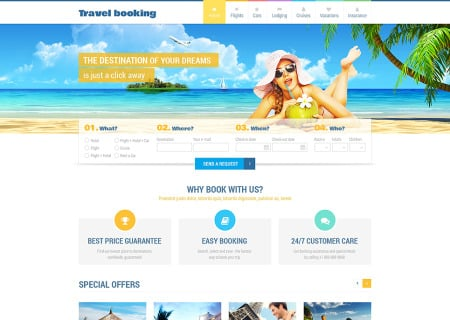 Airline Tickets Responsive