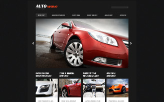 Car Repair Responsive Joomla Template