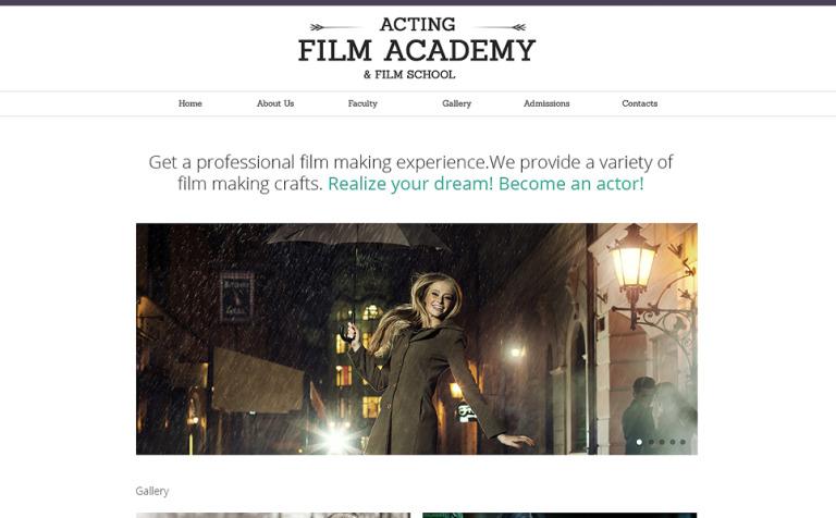 Career Education Responsive Website Template