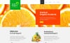 """Fruit Export"" Responsive Joomla Template New Screenshots BIG"