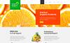 "Joomla шаблон ""Fruit Export"" New Screenshots BIG"