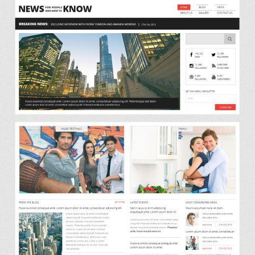 News Know - Joomla! Template based on Bootstrap