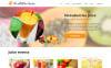 Responsive Joomla Vorlage für Essen und Trinken  New Screenshots BIG