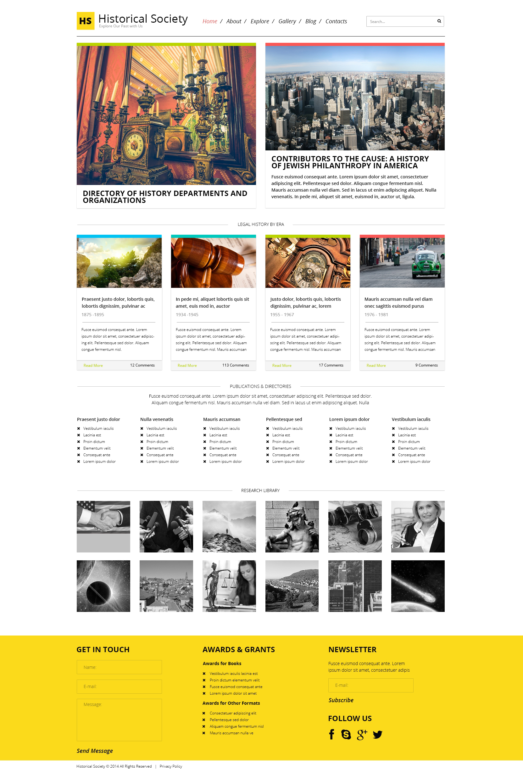 Responsive WordPress thema over Nieuws website №48923