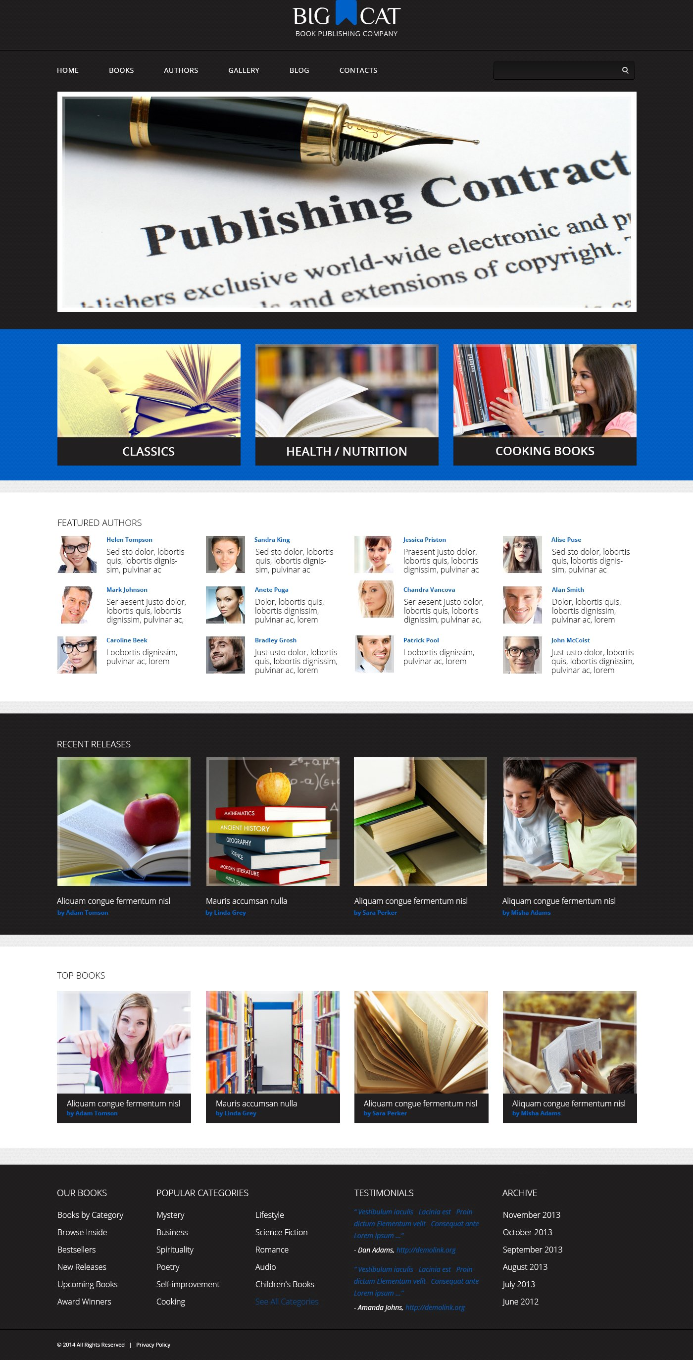 Responsive Yayıncılık Firması Wordpress #48920 - Ekran resmi