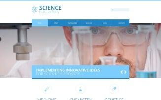 Science Laboratory - Science Laboratory Responsive Clean Joomla Template