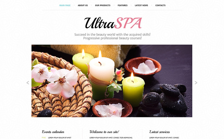 Spa Treatment Joomla Template