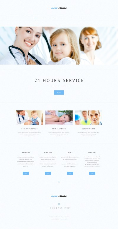 Medical Responsive Tema WordPress