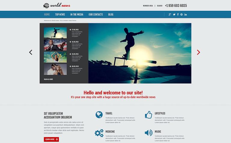 Template Joomla Flexível para Sites de Portal de Noticias №48961 d64189c39f5dd