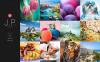 Template Web Bootstrap para Sites de Portfólio de Fotografo №48940 New Screenshots BIG