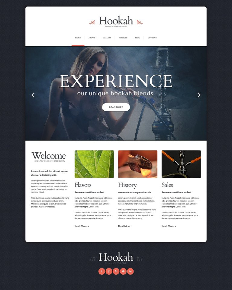 Tobacco Responsive Website Template New Screenshots BIG