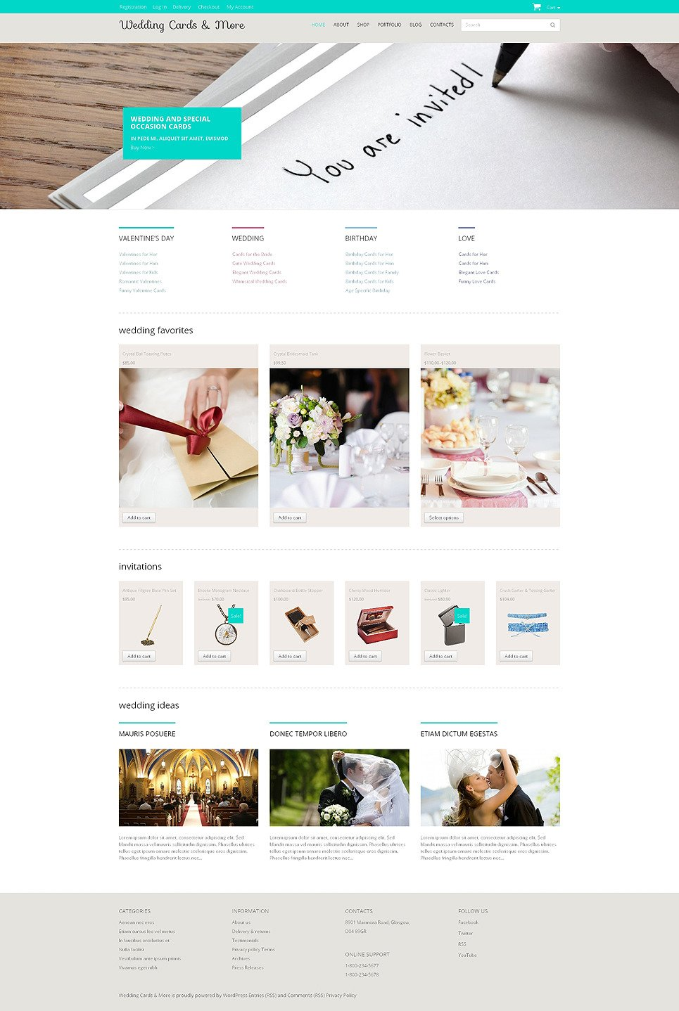 Wedding Shop Responsive WooCommerce Theme New Screenshots BIG