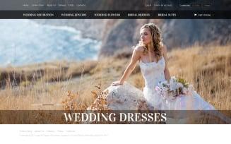 Wedding Shop VirtueMart Template