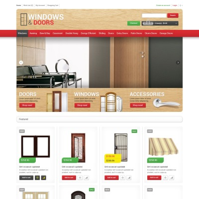opencart bookstore template - opencart furniture themes opencart interior templates