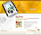 Flash: Web Design Web Design 3D Style Flash Site