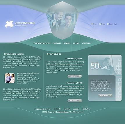 Многостраничный шаблон для сайта (Template Monster № 4970)