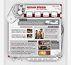 Flash: Web Design Web Design Clean Style Flash Site