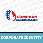 Politics Corporate Identity Template 4998
