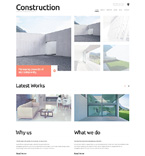 Architecture WordPress Template 49012