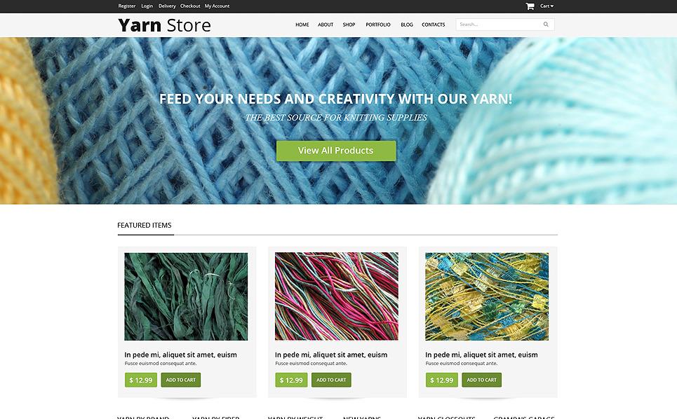 Tema WooCommerce Flexível para Sites de Artesaniais №49016 New Screenshots BIG
