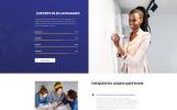 """Lingvo Center - Translation Bureau Classic Multipage HTML"" modèle web adaptatif"