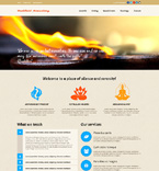 Religious Website  Template 49019