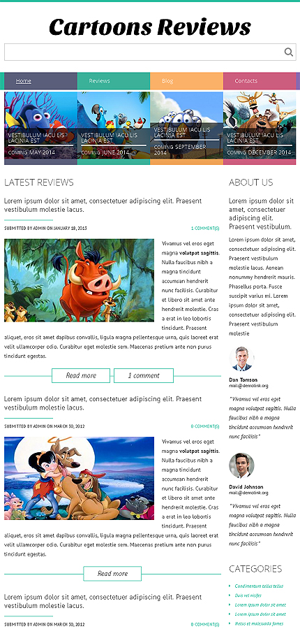 Drupal Template 49024 Main Page Screenshot