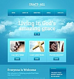 Religious Moto CMS HTML  Template 49038