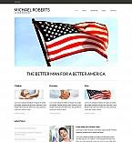 Politics Moto CMS HTML  Template 49041