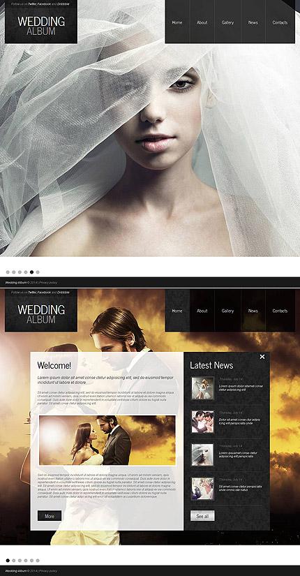 ADOBE Photoshop Template 49044 Home Page Screenshot