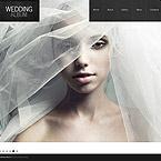 Wedding Moto CMS HTML  Template 49044