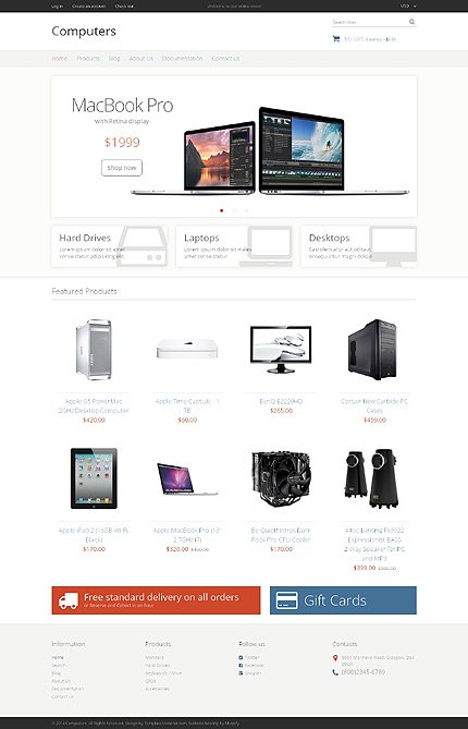 Website Template #49047