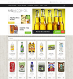 Food & Drink OpenCart  Template 49051
