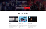 MOOV - Movie Center Multipage Classic HTML Template Web №49053