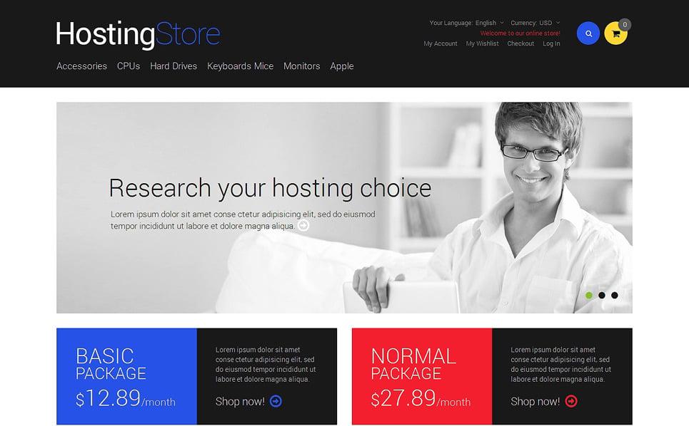 Reszponzív Hosting  Magento sablon New Screenshots BIG