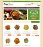 Food & Drink Magento Template 49060